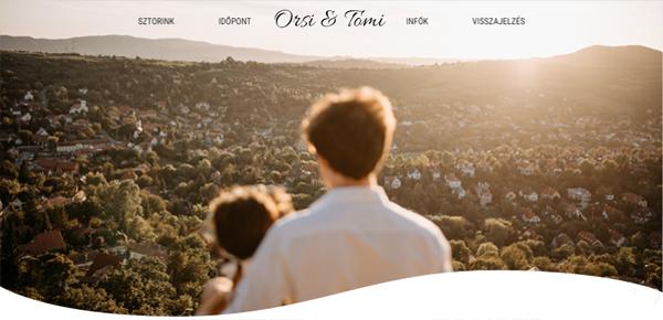 Orsi & Tomi esküvő